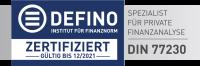 DEFINO Analyse mit XPoint24
